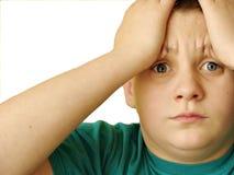 Tiener in probleem Stock Afbeelding