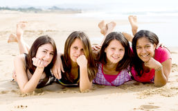 Tiener vriendschap Royalty-vrije Stock Afbeelding