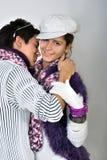 Tienerjaren in liefde Royalty-vrije Stock Foto's