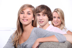 Tieners Stock Foto