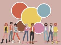 tieners stock illustratie