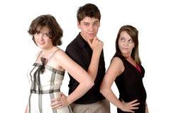 Tieners Stock Fotografie