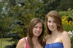 Tieners in openlucht Royalty-vrije Stock Afbeeldingen