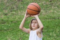 Tienersportman royalty-vrije stock afbeelding