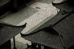 Tienfu takvåning i tre naturliga broar Fotografering för Bildbyråer
