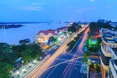 Tiengiang Vietnam stockfotos