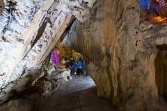 TienKung Cave at Halong Bay, Viet Nam Stock Images