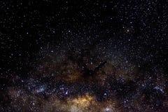 Tient le premier rôle le fond étoilé de noir d'univers de nuit de ciel d'espace extra-atmosphérique de galaxie Photo stock