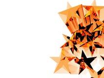 Tient le premier rôle l'illustration 3D Images libres de droits
