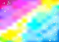 Tient le premier rôle le fond rose-bleu de colorspot Illustration de Vecteur