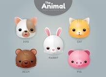 Tier und Haustier lizenzfreie abbildung