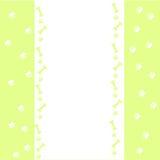 Tierabdruckdesign auf weißem Hintergrund Stockfoto