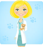 Tierarzt Lizenzfreies Stockbild