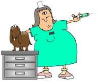 Tierarzt-Technologie stock abbildung
