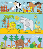 Tiere Lizenzfreie Stockbilder