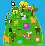 Tiere 2 Stockbild