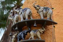 Tiere in Busch-Garten Stockbilder