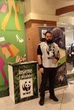 Tiere, der Zoo mit Plüschtieren auf Ausflug in Italien Stockfotografie