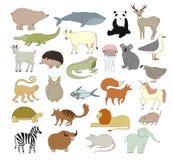 Tiere eingestellt Lizenzfreies Stockbild