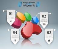 Tiere infographic und Geschäftsikone Stockfotos