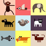 Tiere und Haustiere Lizenzfreie Stockbilder