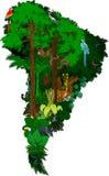 Tiere und Pflanzen Südamerika Stockbild