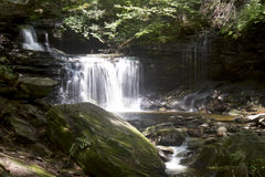 Tiered waterfalls Royalty Free Stock Photography