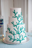 Tiered wedding cake Royalty Free Stock Photos