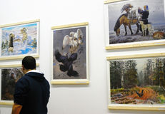 "Tierfestival ""der goldenen Schildkröte"" Stockbilder"