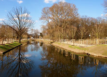 Tiergarten center city park. Berlin, Germany Royalty Free Stock Image
