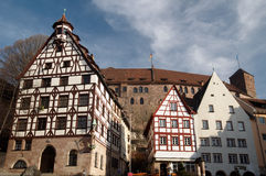 Tiergartnertor, Nuremberg, Germany Royalty Free Stock Photography