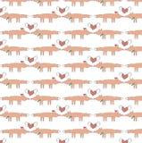 Tierhintergrund - Füchse in der Liebe Lizenzfreies Stockbild