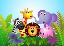 Tierkarikatur Stockbild
