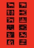 Tierkreis Stockfoto