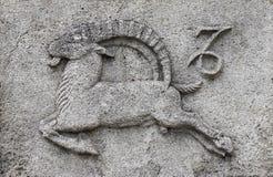 Tierkreis - Steinbock oder Meeres-Ziege lizenzfreies stockbild