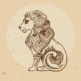 Tierkreis-Zeichen - Löwe Stockfotografie
