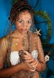 Tierkreisfisch-Mädchen Stockfotos