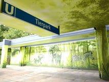 Tierpark Berlino fotografia stock libera da diritti
