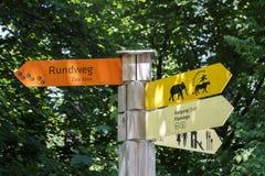 Tierpark Hellabrunn en Munich, 2015 Imagen de archivo libre de regalías