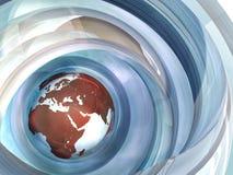 tierra 3d Imagen de archivo libre de regalías