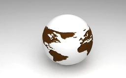 Tierra 3D Fotos de archivo libres de regalías
