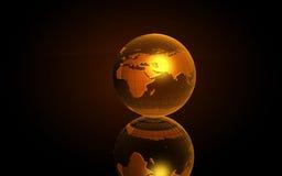 Tierra 3D Imágenes de archivo libres de regalías