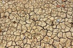 Tierra agrietada seca foto de archivo