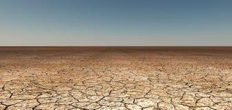 Tierra agrietada seca Imágenes de archivo libres de regalías