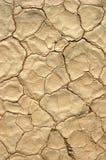 Tierra agrietada seca, agotamiento Imagen de archivo libre de regalías