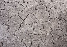 Tierra agrietada, textura del suelo, desierto imagen de archivo