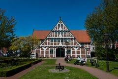 Tierra Alemania de Jork im Alten del ayuntamiento Imagen de archivo libre de regalías
