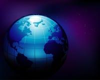 Tierra azul Fotografía de archivo