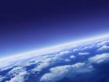 Tierra azul Imagen de archivo
