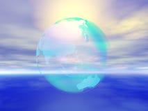 Tierra clara Ilustración del Vector